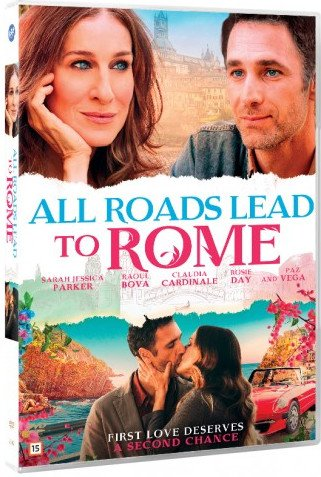 Image of   All Roads Lead To Rome - DVD - Film