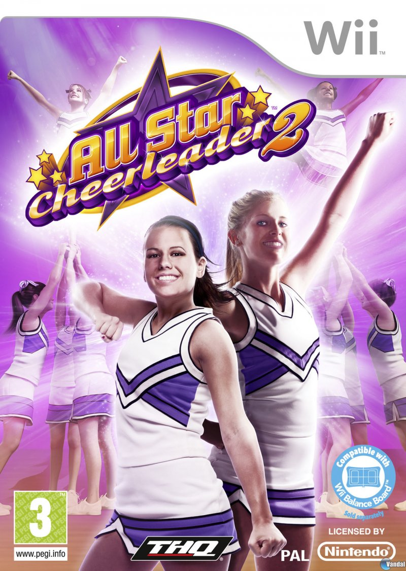 Image of   All Star Cheerleader 2 - Wii