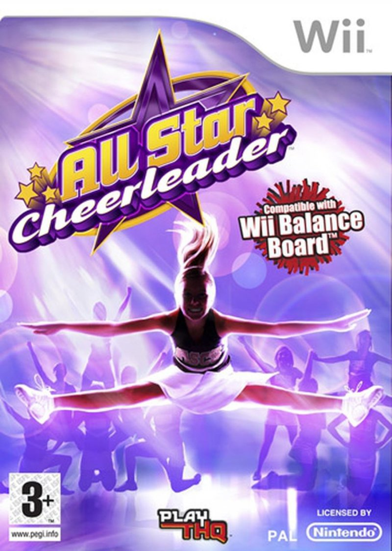 All Star Cheerleader (for Balance Board) - Wii