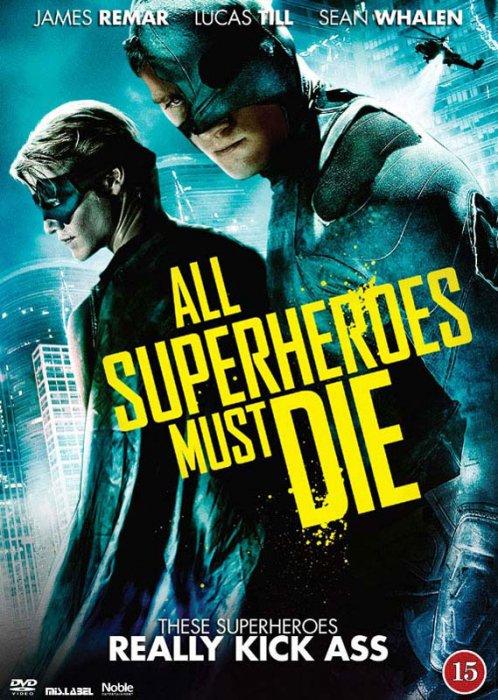 Image of   All Superheroes Must Die - DVD - Film
