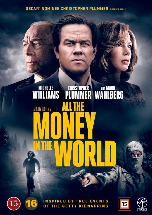 Billede af All The Money In The World - DVD - Film