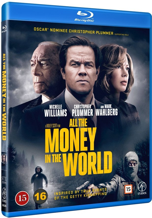 Image of   All The Money In The World - Blu-Ray