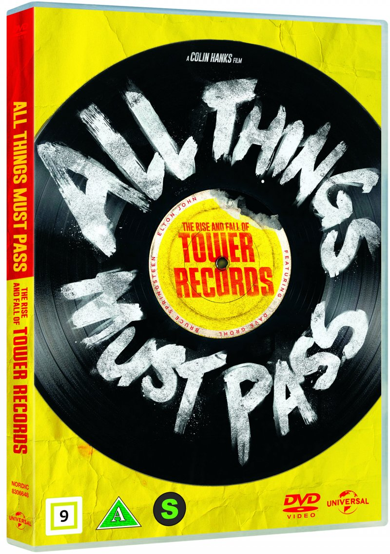 Billede af All Things Must Pass: The Rise And Fall Of Tower Records - DVD - Film