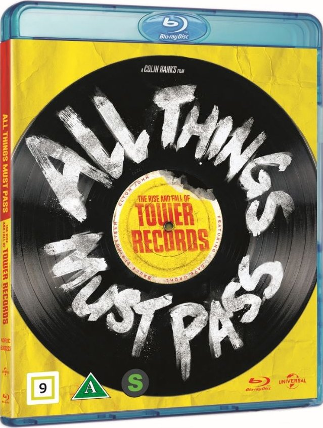 Image of   All Things Must Pass - The Rise And Fall Of Tower Records - Blu-Ray