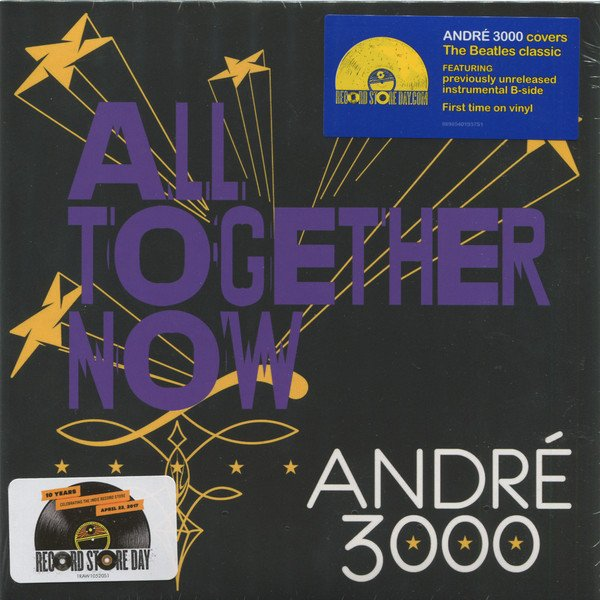 "Image of   André 3000 - All Together Now - 7"" - Vinyl / LP"
