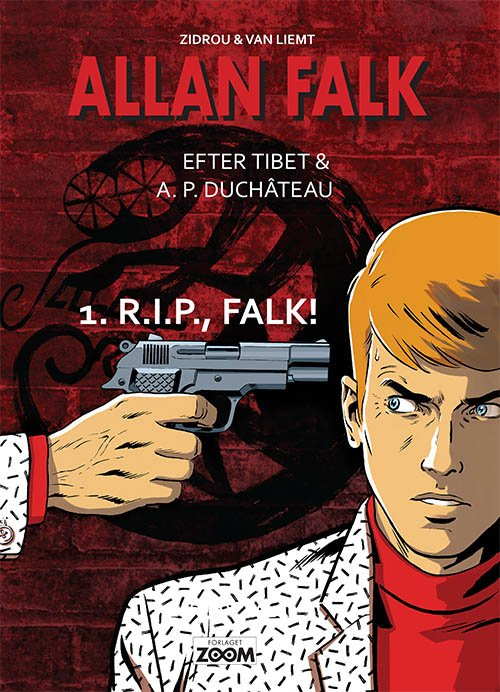 Image of   Allan Falk 1: R.i.p., Falk! - Zidrou - Tegneserie