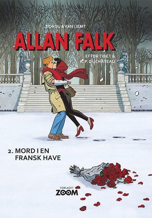 Image of   Allan Falk 2: Mord I En Fransk Have - Zidrou - Tegneserie