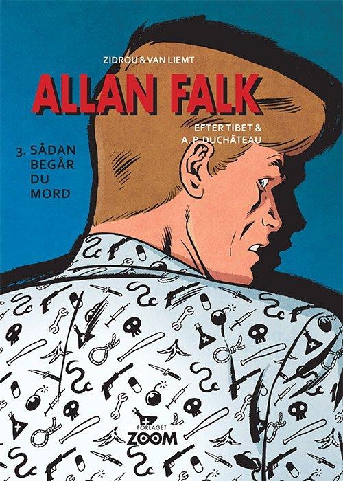 Image of   Allan Falk 3: Sådan Begår Du Mord - Van Liemt - Tegneserie