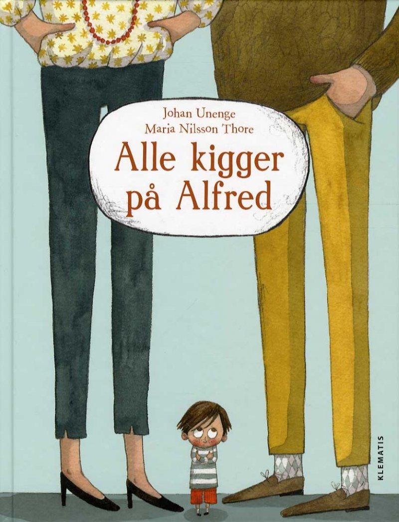 Image of   Alle Kigger På Alfred - Johan Enenge - Bog