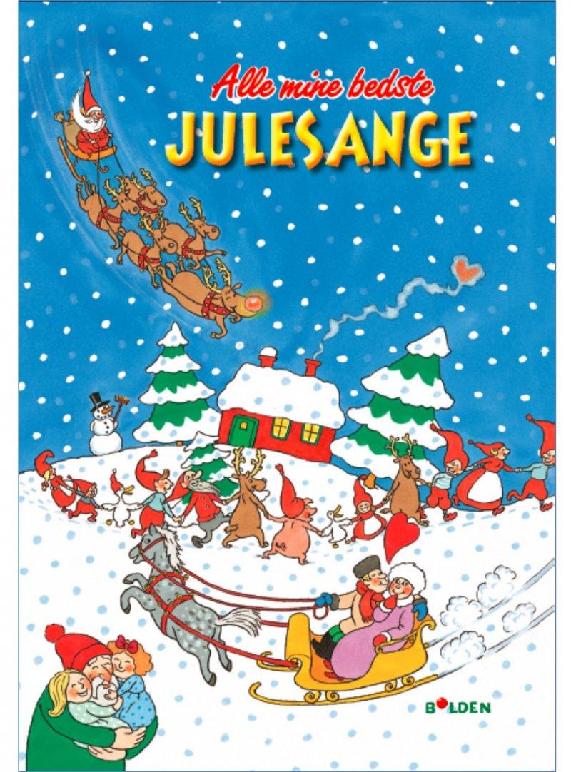 Image of   Alle Mine Bedste Julesange - Med Cd - Otto Brandenburg - Bog