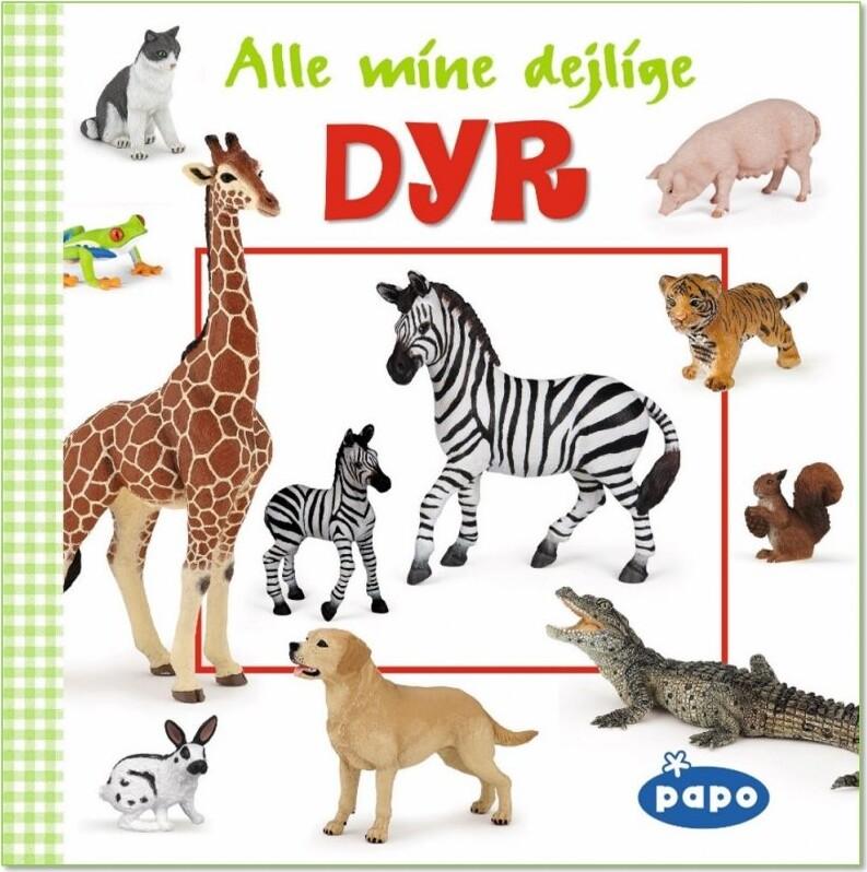 Image of   Alle Mine Dejlige Dyr (papo) - Diverse - Bog