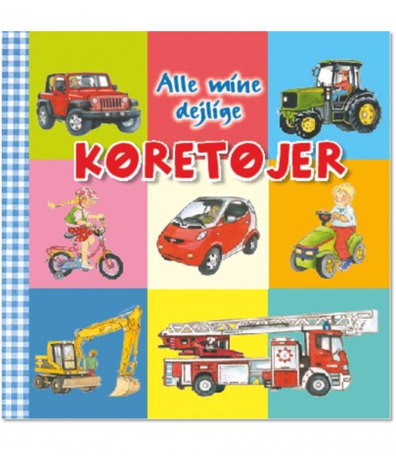 Image of   Alle Mine Dejlige Køretøjer - Anne-marie Frisque - Bog