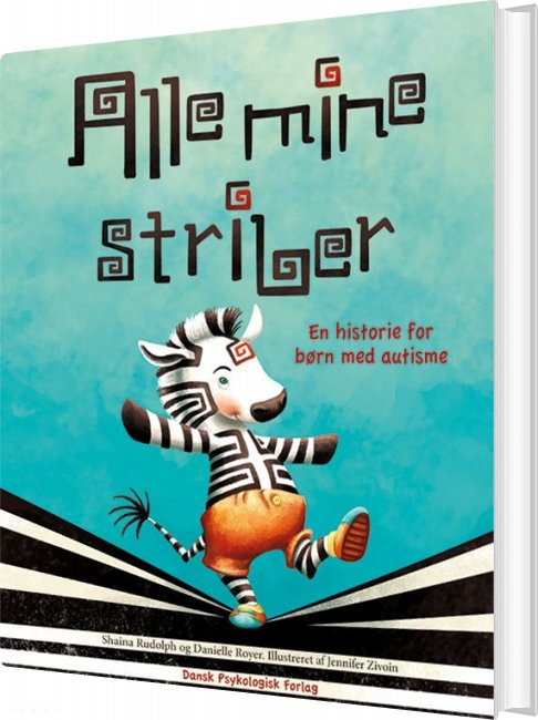 Image of   Alle Mine Striber - Danielle Royer - Bog