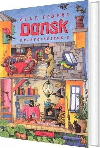 Image of   Alle Tiders Dansk 2.kl. Oplevelsesbog - Kirsten Granau - Bog