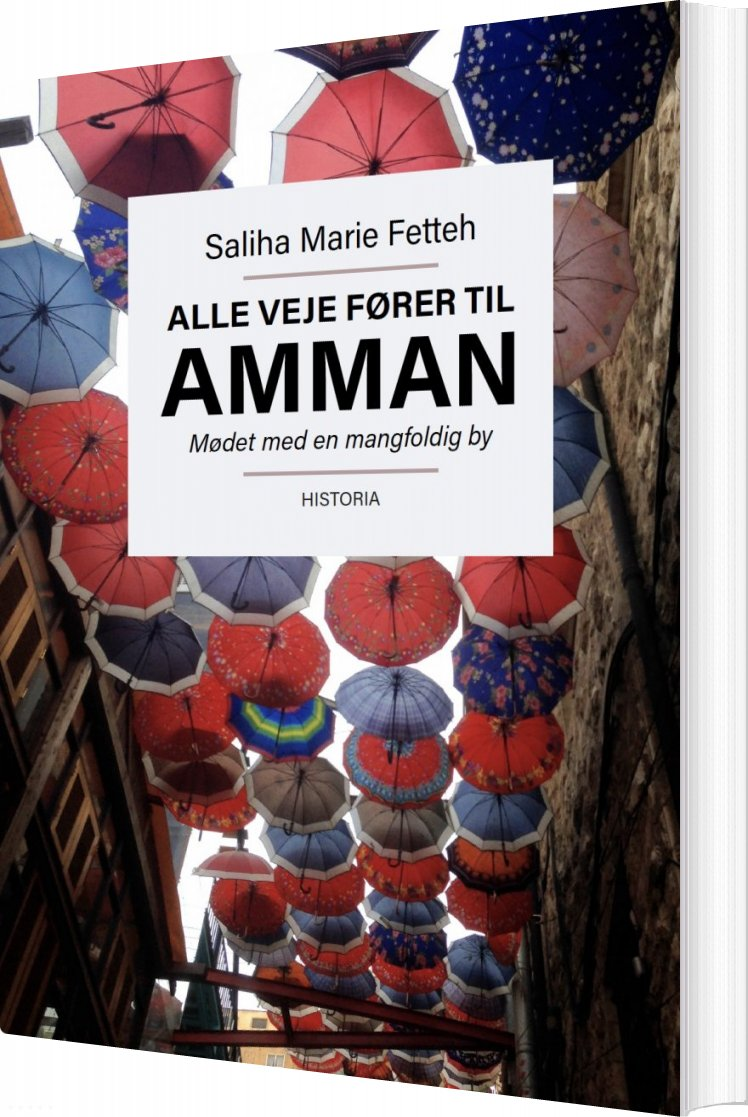 Image of   Alle Veje Fører Til Amman - Saliha Marie Fetteh - Bog