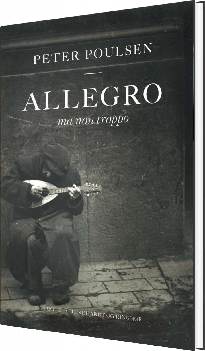 Billede af Allegro Ma Non Troppo - Peter Poulsen - Bog