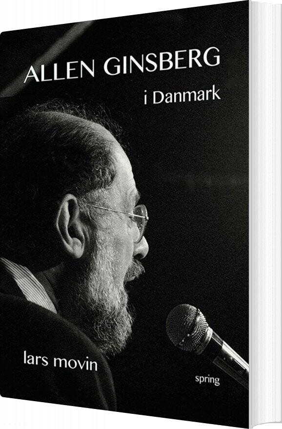Image of   Allen Ginsberg I Danmark - Lars Movin - Bog