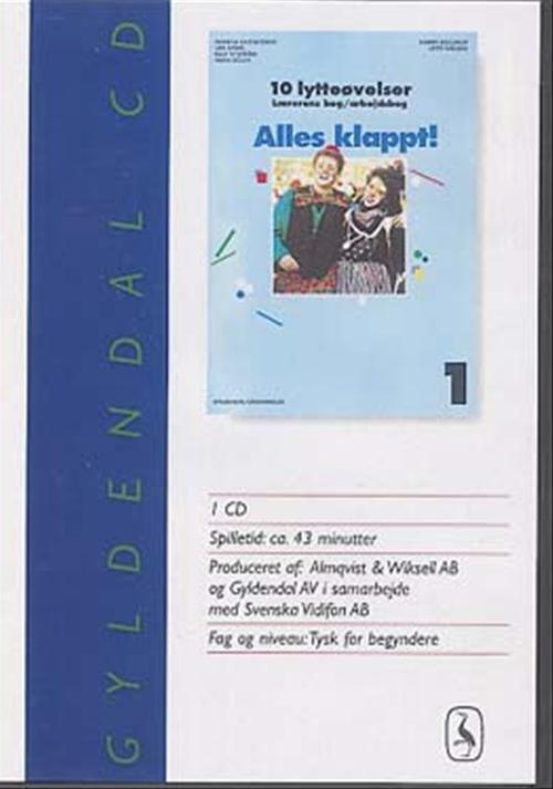 Billede af Alles Klappt! 1 For 7. Klasse. lytteøvelser - Lotte Nielsen - Bog