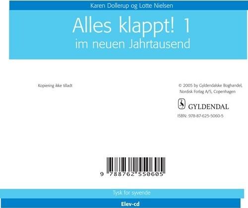 Image of   Alles Klappt! 1 - Karen Dollerup - Bog