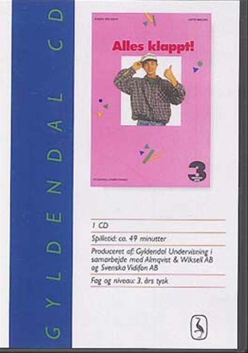 Billede af Alles Klappt! 3 For 9. Klasse. lytteøvelser - Lotte Nielsen - Bog