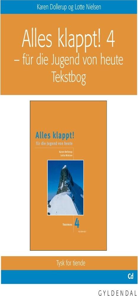 Image of   Alles Klappt! 4. Tekstbog - Karen Dollerup - Bog