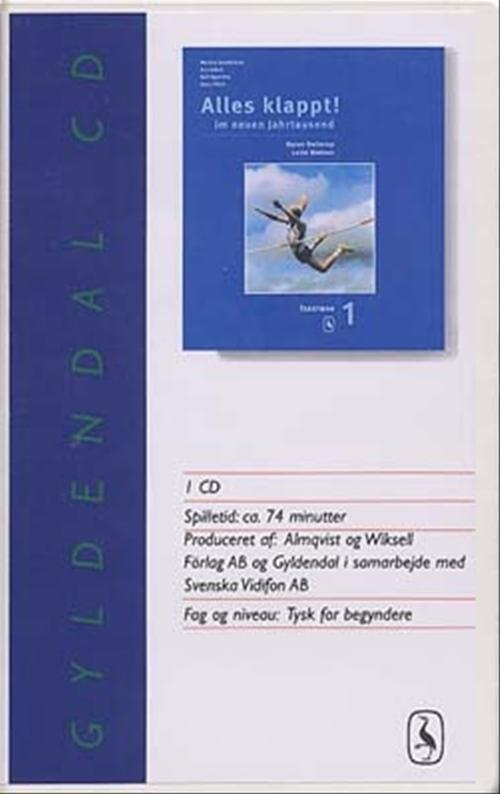 Image of   Alles Klappt! 1. Tekstbog - Lotte Nielsen - Bog