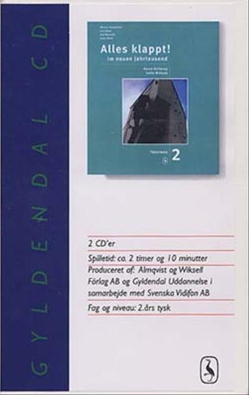 Image of   Alles Klappt! 2. Tekstbog - Lotte Nielsen - Bog