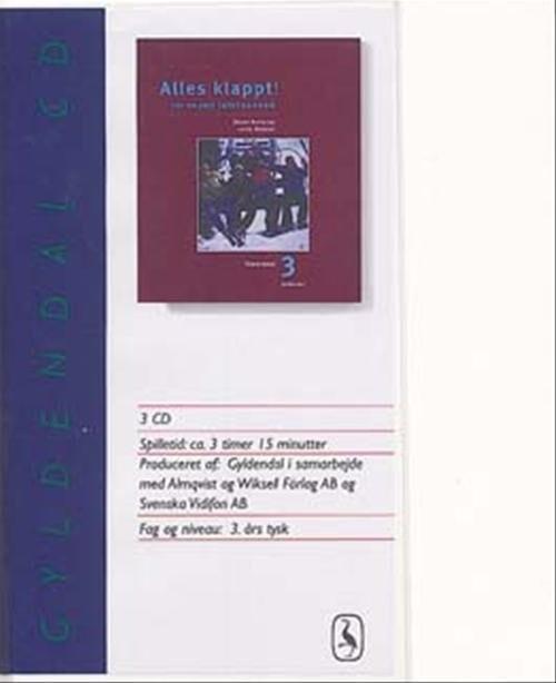 Image of   Alles Klappt! 3. Tekstbog - Lotte Nielsen - Bog