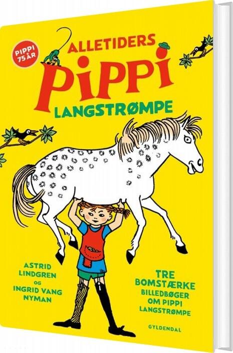 Image of   Alletiders Pippi Langstrømpe - Astrid Lindgren - Bog