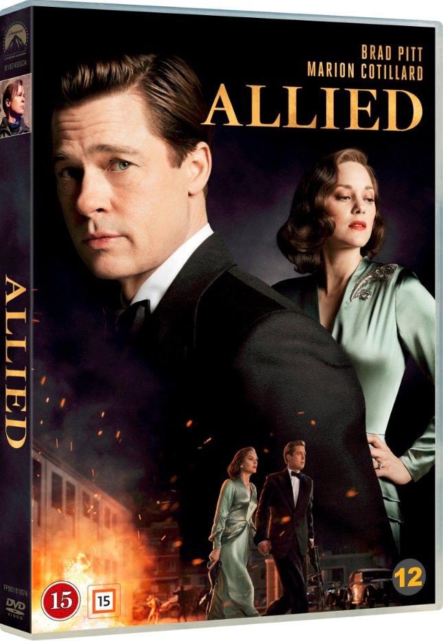 Image of   Allied - Brad Pitt 2016 - DVD - Film