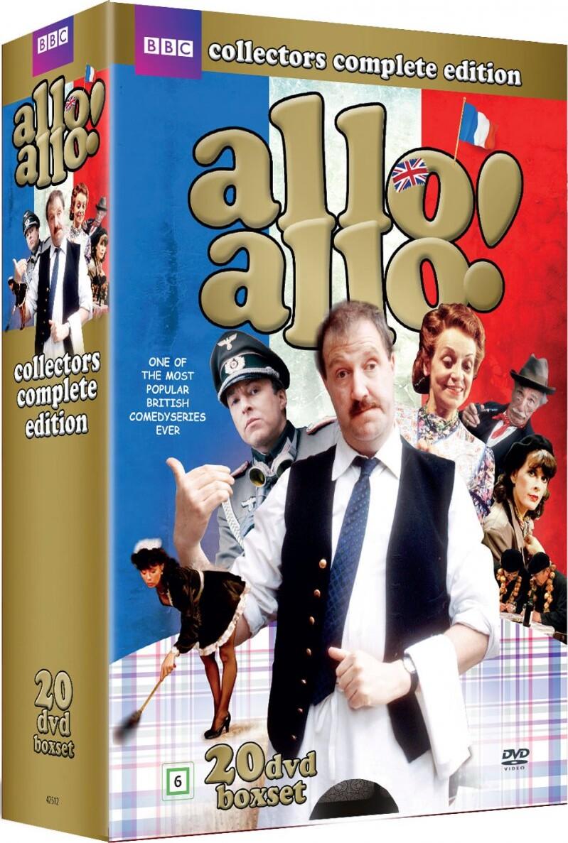 Image of   Allo Allo Collection - Complete Series - Bbc - DVD - Tv-serie