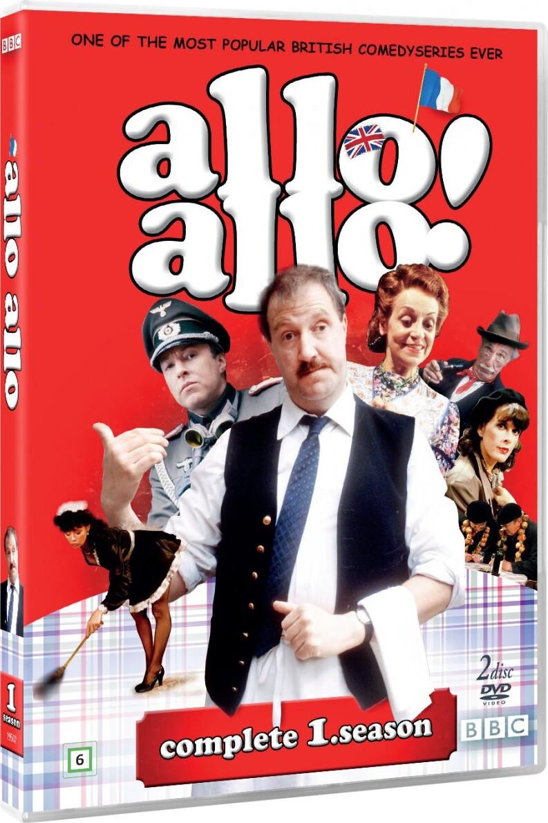 Image of   Allo Allo - Sæson 1 - Bbc - DVD - Tv-serie