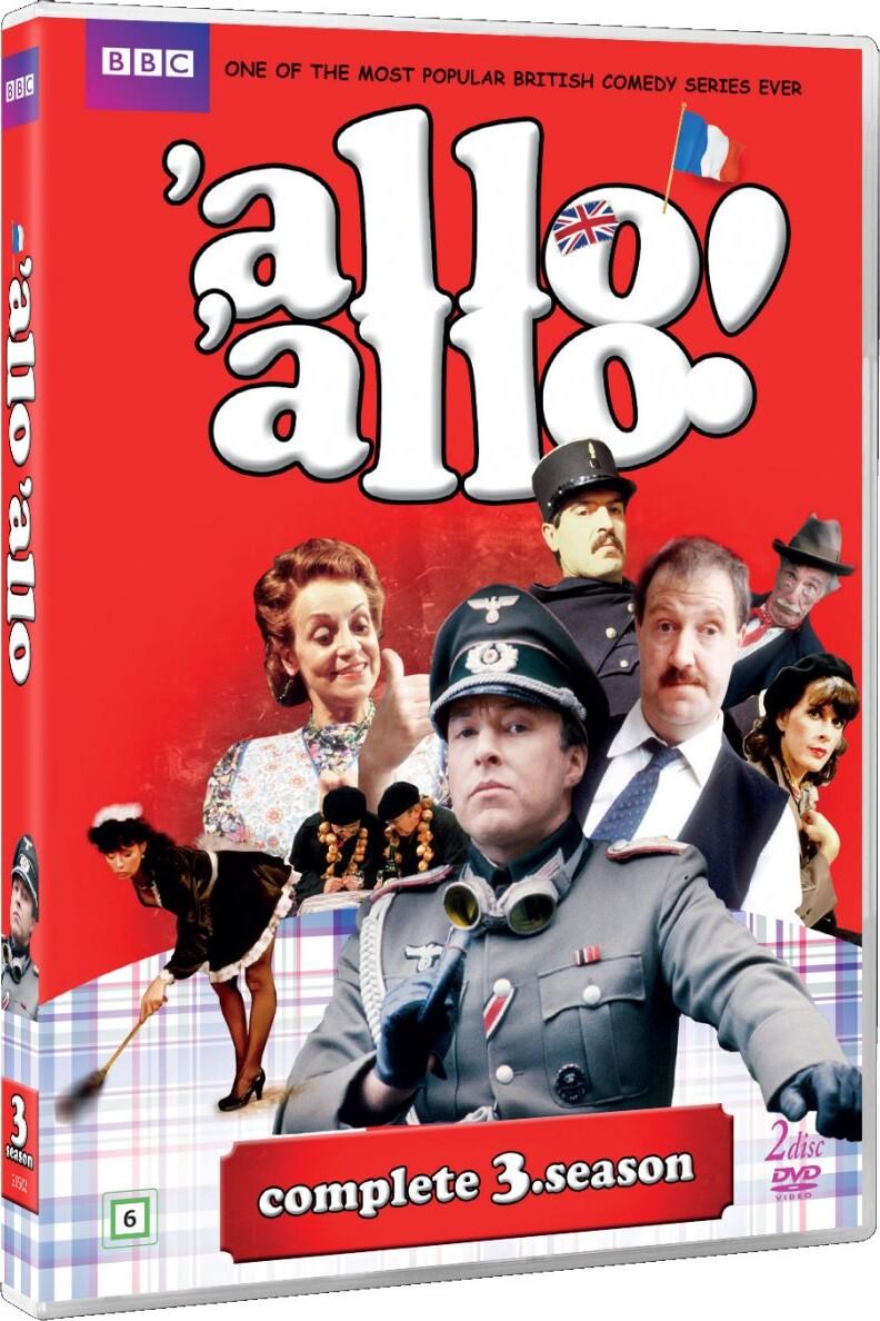 Image of   Allo Allo - Sæson 3 - Bbc - DVD - Tv-serie