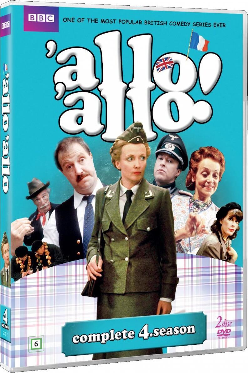 Image of   Allo Allo - Sæson 4 - Bbc - DVD - Tv-serie