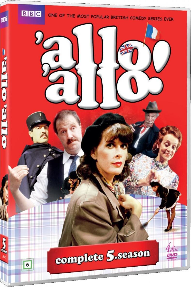Image of   Allo Allo - Sæson 5 - Bbc - DVD - Tv-serie