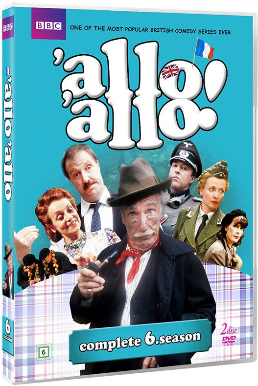 Image of   Allo Allo! - Sæson 6 - Bbc - DVD - Tv-serie