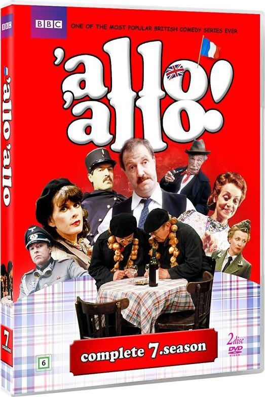 Image of   Allo Allo - Sæson 7 - Bbc - DVD - Tv-serie