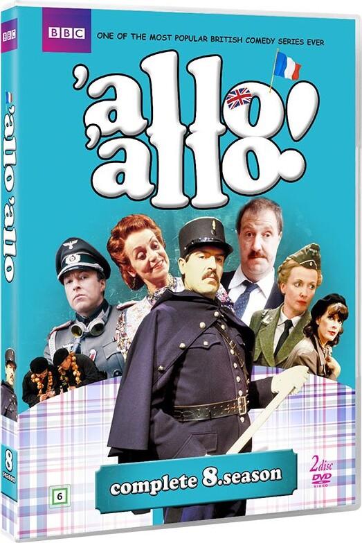 Image of   Allo Allo - Sæson 8 - Bbc - DVD - Tv-serie