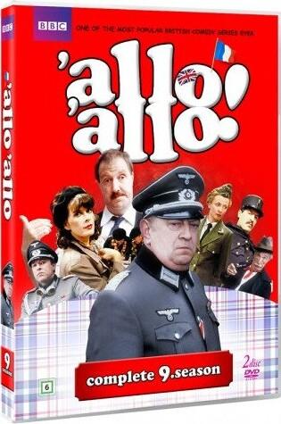 Image of   Allo Allo! - Sæson 9 - Bbc - DVD - Tv-serie