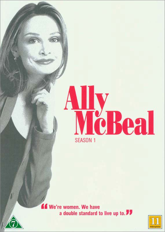 Image of   Ally Mcbeal - Sæson 1 - DVD - Tv-serie