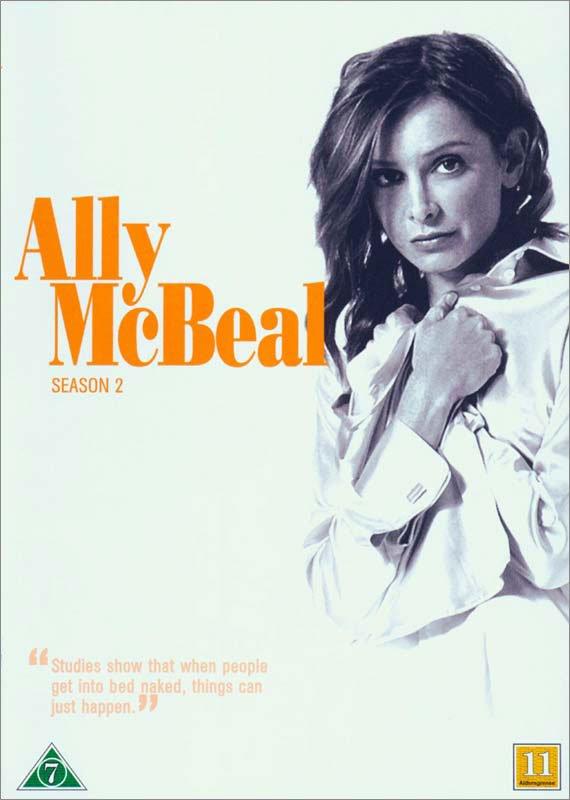 Image of   Ally Mcbeal - Sæson 2 - DVD - Tv-serie