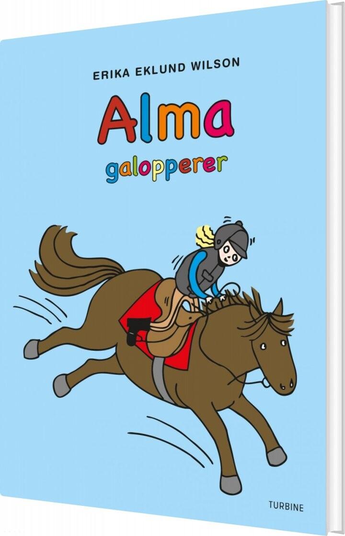 Image of   Alma Galopperer - Erika Eklund Wilson - Bog