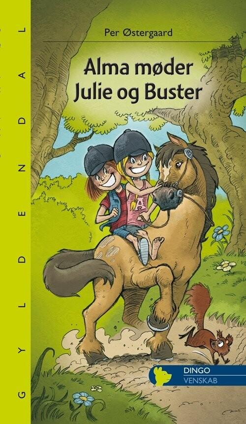 Billede af Alma Møder Julie Og Buster - Per østergaard - Bog