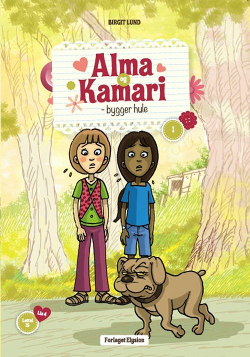 Image of   Alma Og Kamari Bygger Hule - Birgit Lund - Bog