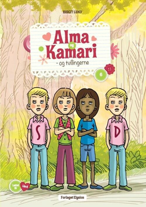 Image of   Alma Og Kamari Og Tvillingerne - Birgit Lund - Bog