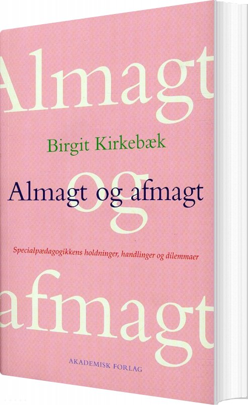 Image of   Almagt Og Afmagt - Birgit Kirkebæk - Bog