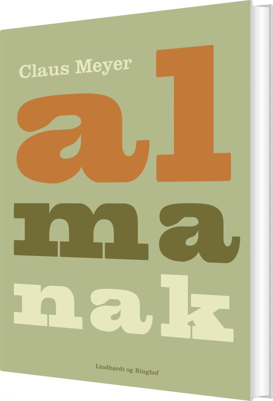 Almanak Jubilæum - Claus Meyer - Bog