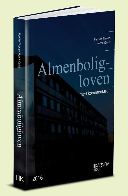 Image of   Almenboligloven - Pernille Thrane - Bog