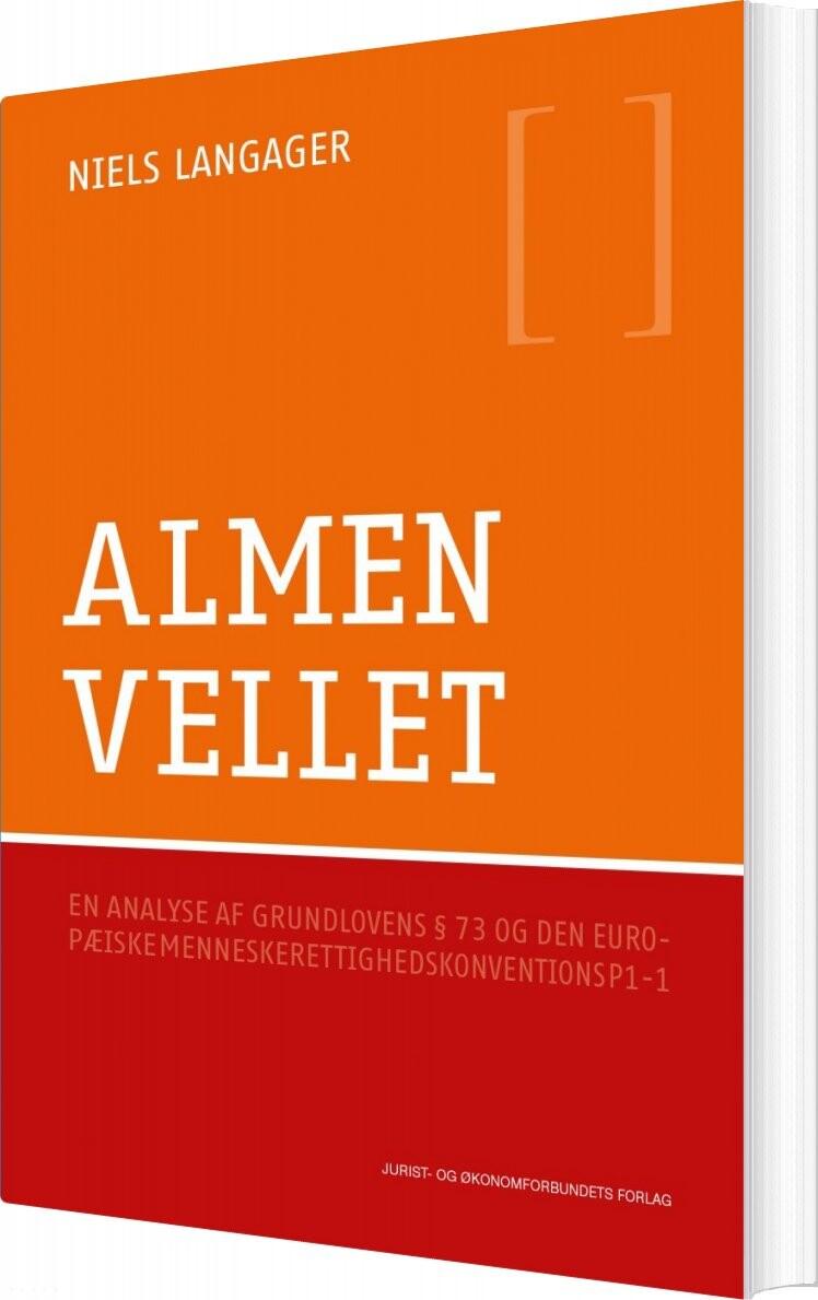 Image of   Almenvellet - Niels Langager - Bog