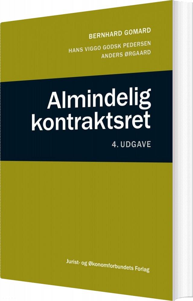 Billede af Almindelig Kontraktsret - Bernhard Gomard - Bog